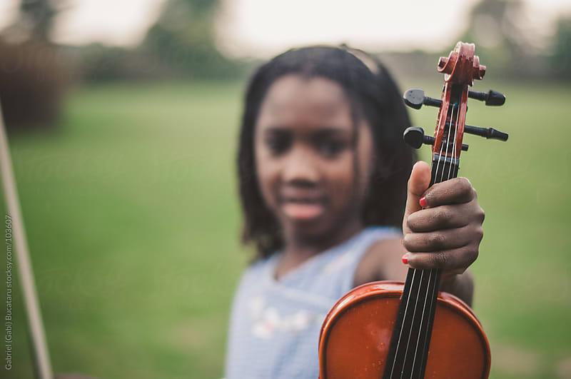 Here's my violin! by Gabriel (Gabi) Bucataru for Stocksy United