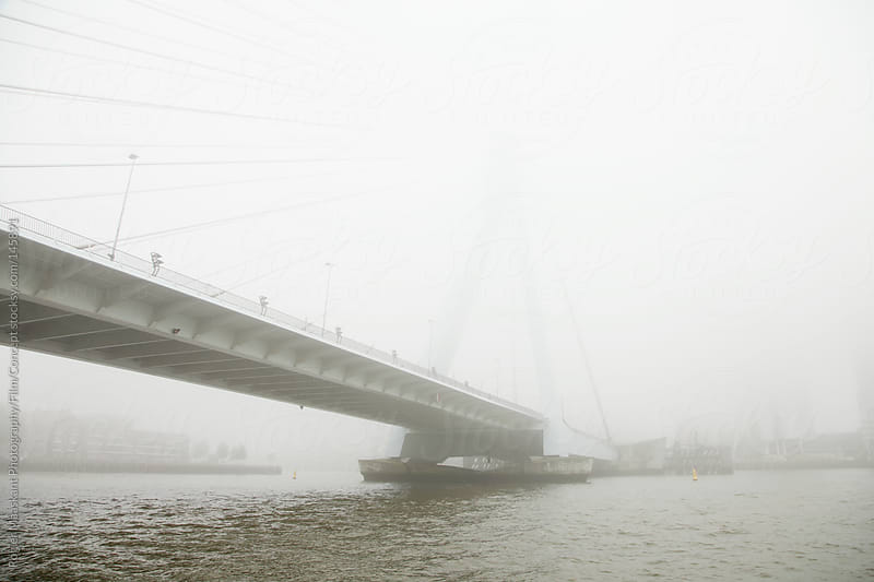 Bridge in Rotterdam by Rogier Maaskant Photography/Film/Concept for Stocksy United