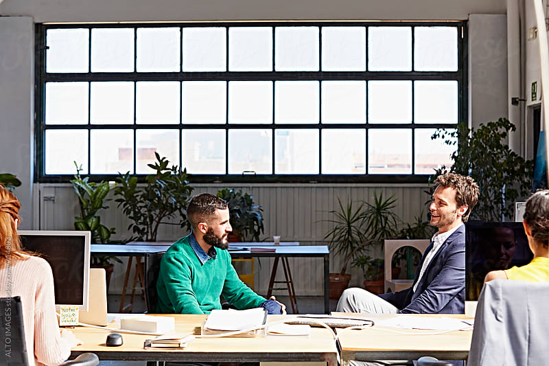 Business People Working In Office by ALTO IMAGES for Stocksy United