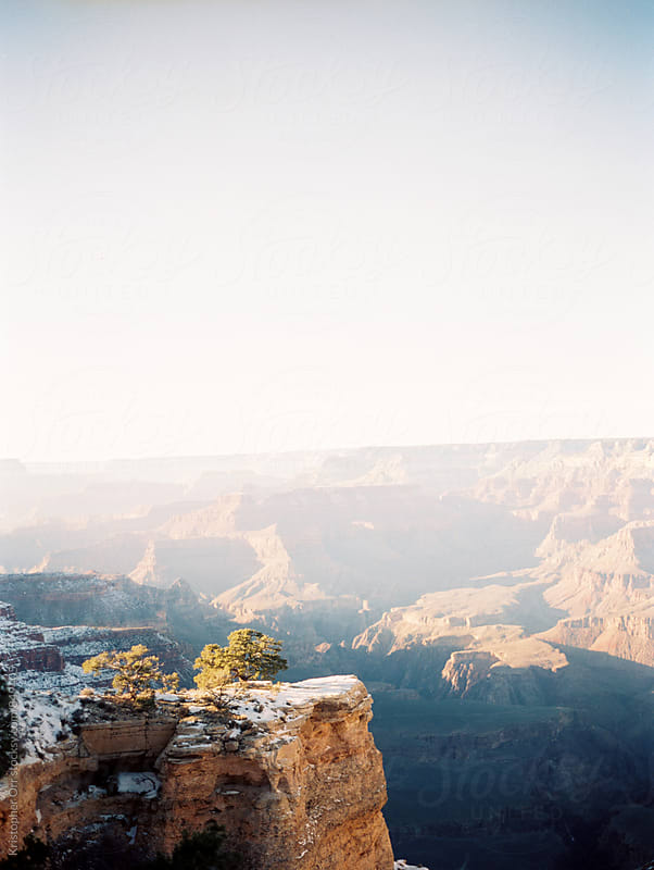 Grand Canyon in the Winter by Kristopher Orr for Stocksy United