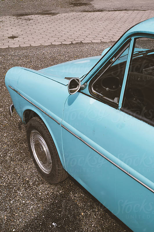 Classic old Dutch car by Marcel for Stocksy United