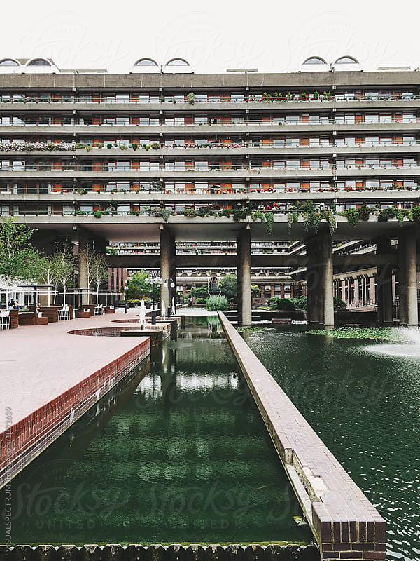 Brutalist 1960s London Architecture by Julien L. Balmer for Stocksy United
