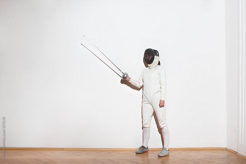 Female Fencer by Lumina for Stocksy United