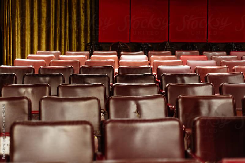 Theater seats by Boris Jovanovic for Stocksy United
