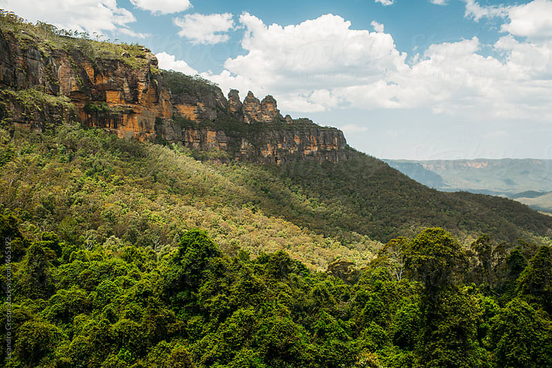 The Blue Mountains, Australia by Leandro Crespi for Stocksy United