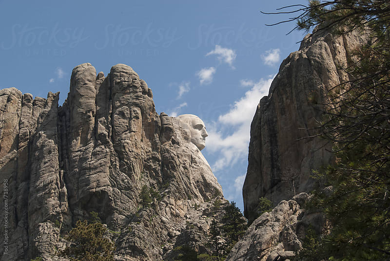 Mount Rushmore by Tod Kapke for Stocksy United