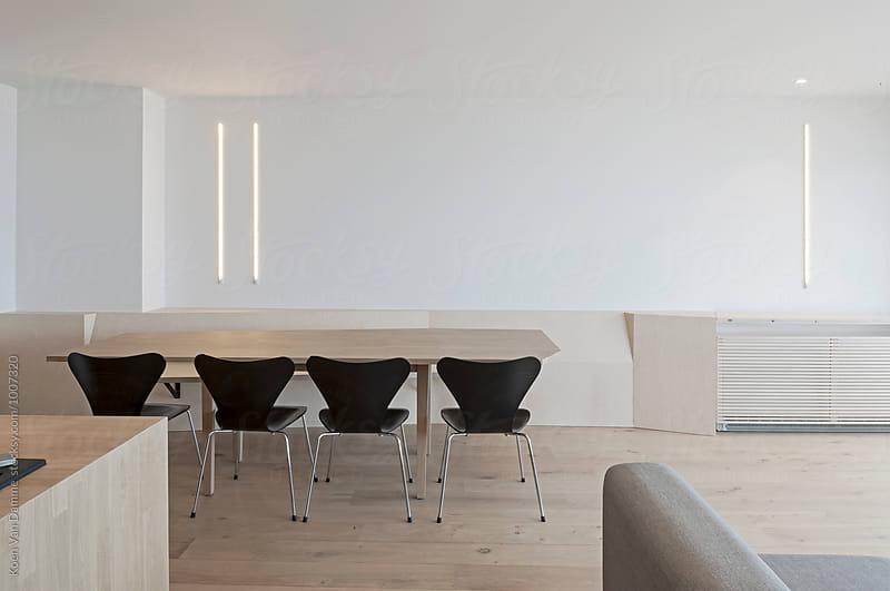 dining room by Koen Van Damme for Stocksy United