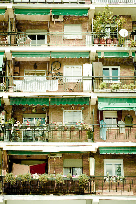 Balconies by Juanjo Grau for Stocksy United