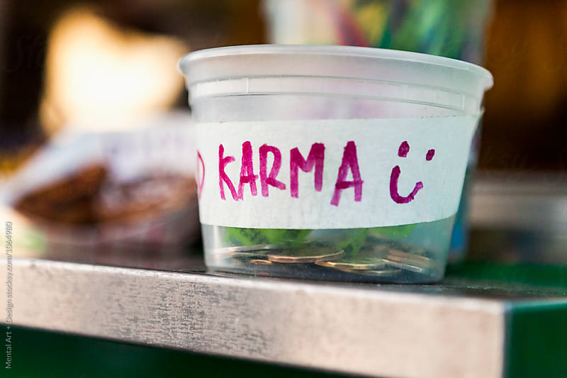 Karma, Tipping by Mental Art + Design for Stocksy United