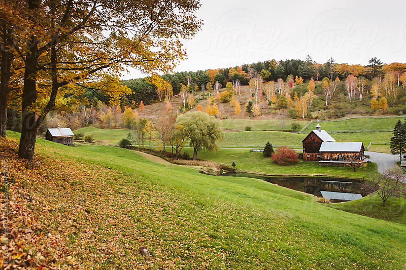 Vermont Farm by Raymond Forbes LLC for Stocksy United