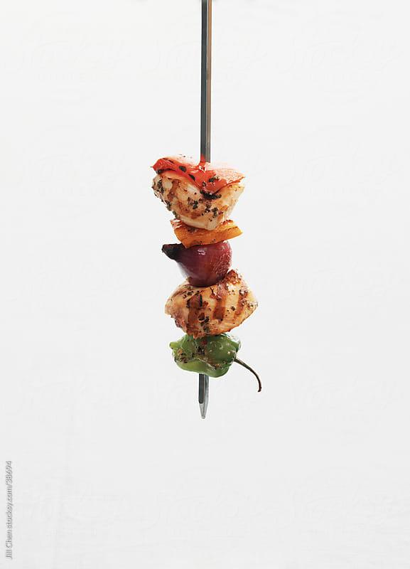 Chicken Skewer by Jill Chen for Stocksy United