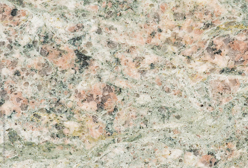 Polished granite, closeup by Mark Windom for Stocksy United