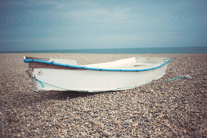 Little old fishing boat by Kitty Kleyn for Stocksy United