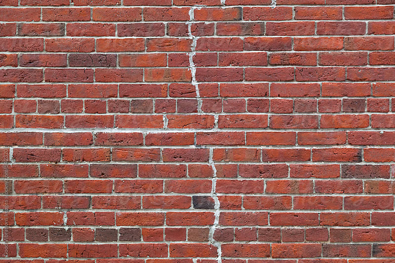 Brick background by Good Vibrations Images for Stocksy United
