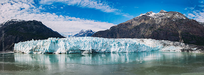 stock photo: marjerie glacier