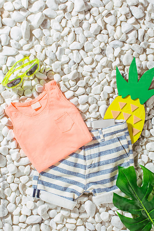 Child summer essentials.  by BONNINSTUDIO for Stocksy United