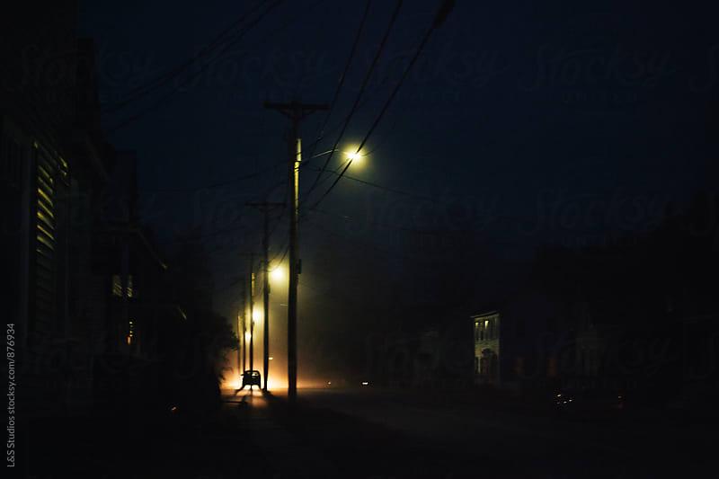 Fog in Waterbury by L&S Studios for Stocksy United