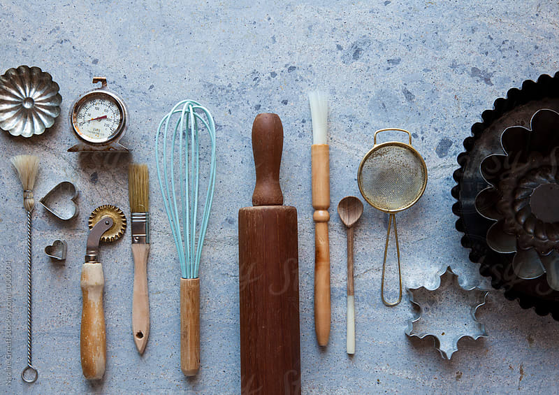 Baking and cooking tools by Nadine Greeff for Stocksy United