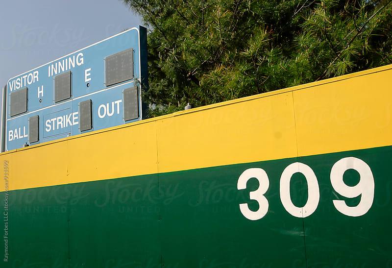 Baseball Scoreboard by Raymond Forbes LLC for Stocksy United