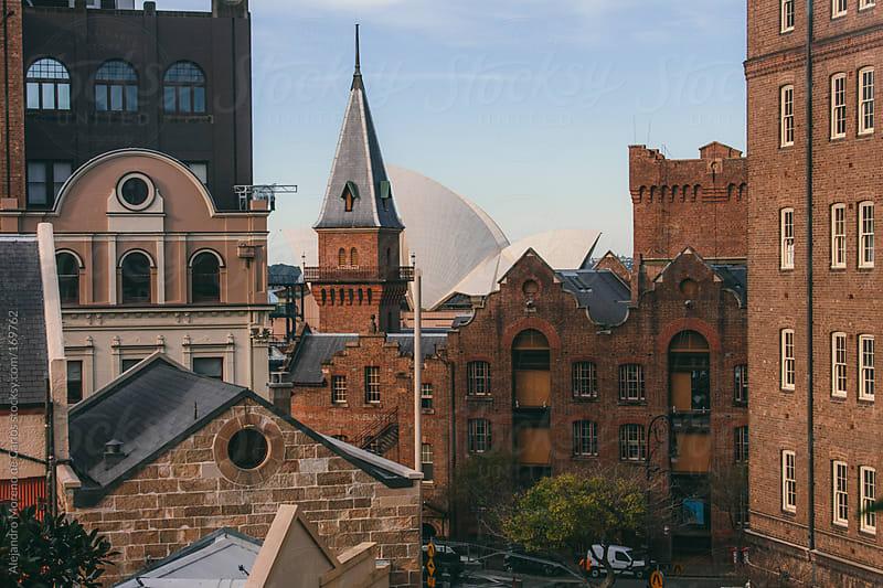 City buildings in Sydney, Australia by Alejandro Moreno de Carlos for Stocksy United
