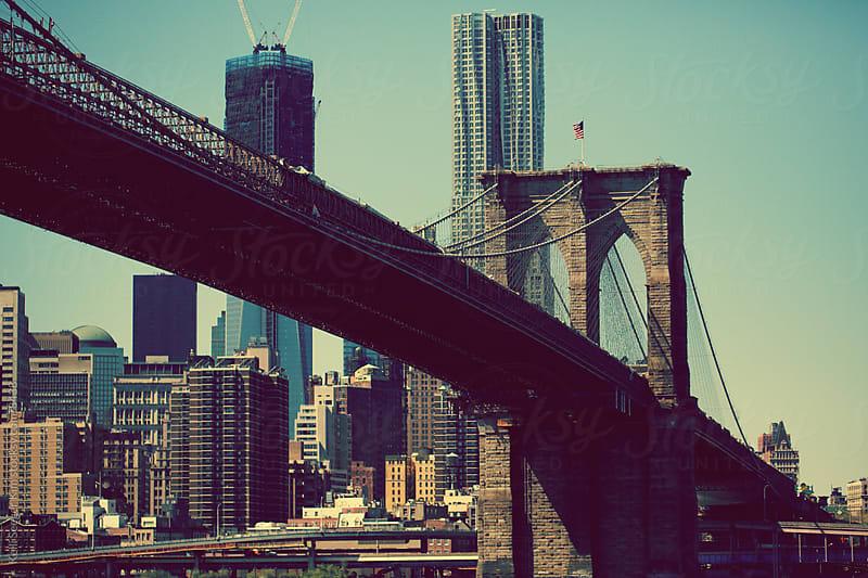 The Brooklyn Bridge by kelli kim for Stocksy United