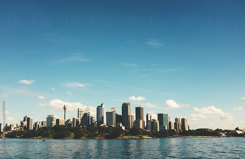 Sydney Skyline by Leandro Crespi for Stocksy United