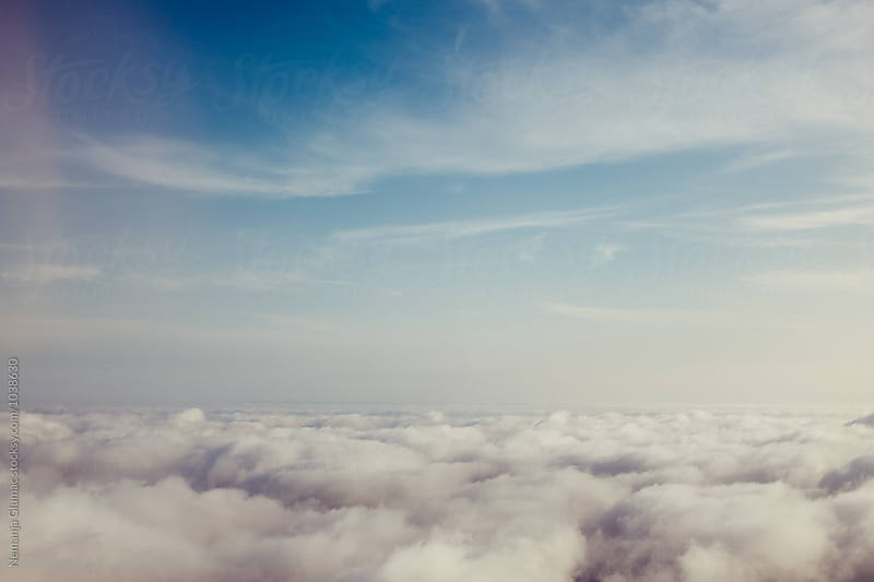 Pastel Cloudscape by Nemanja Glumac for Stocksy United