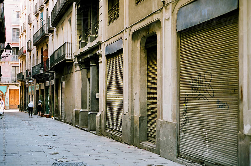 Barcelona Streets and Alleys by Joey Pasco for Stocksy United