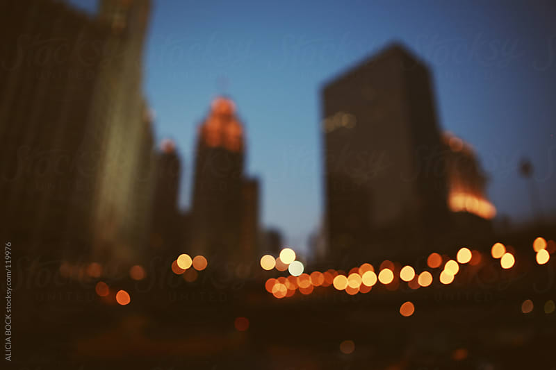 Chicago At Night by ALICIA BOCK for Stocksy United