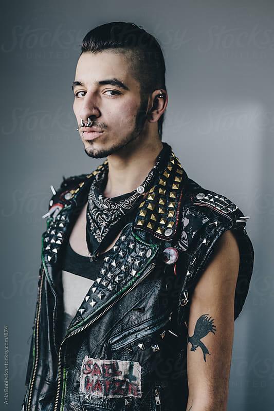 Punk Rocker by Ania Boniecka for Stocksy United