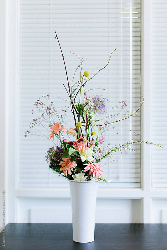 Bunch of flowers in vase by Maa Hoo for Stocksy United