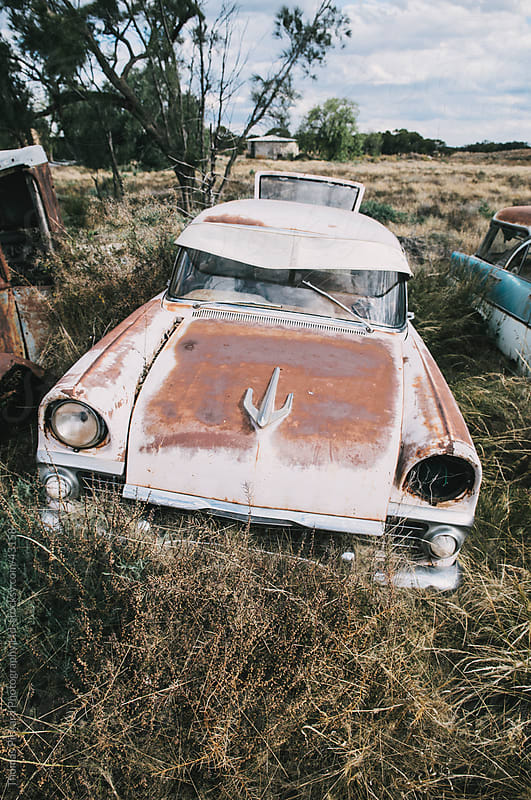 Derelict cars, outback Australia. by Thomas Pickard for Stocksy United