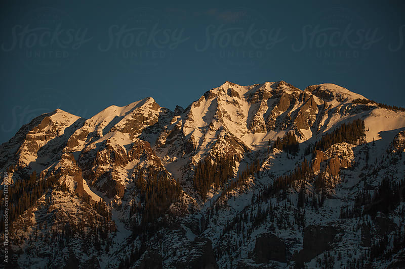 High peaks above Ouray by Aaron Thomas for Stocksy United