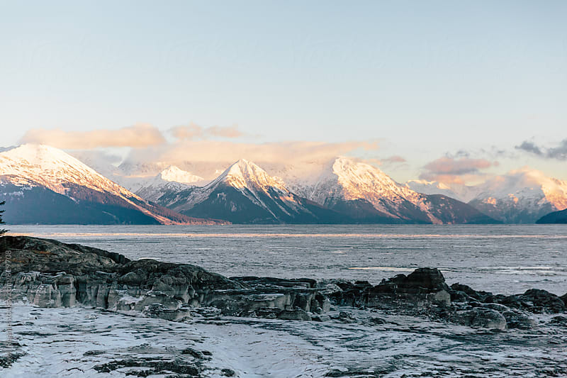 Winter Mountains from Bird Point by Jovell Rennie for Stocksy United