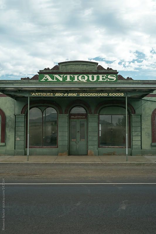 Old Abandoned Antique Store by Rowena Naylor for Stocksy United