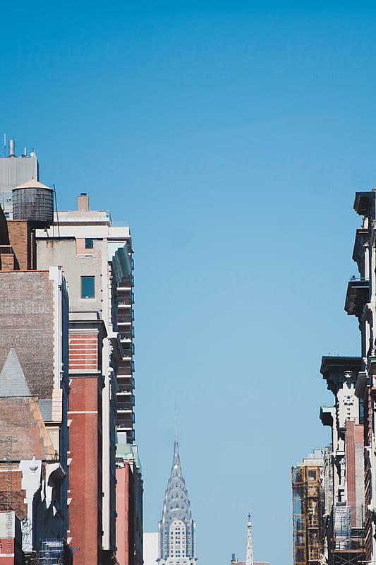 Buildings in New York City by Lauren Naefe for Stocksy United