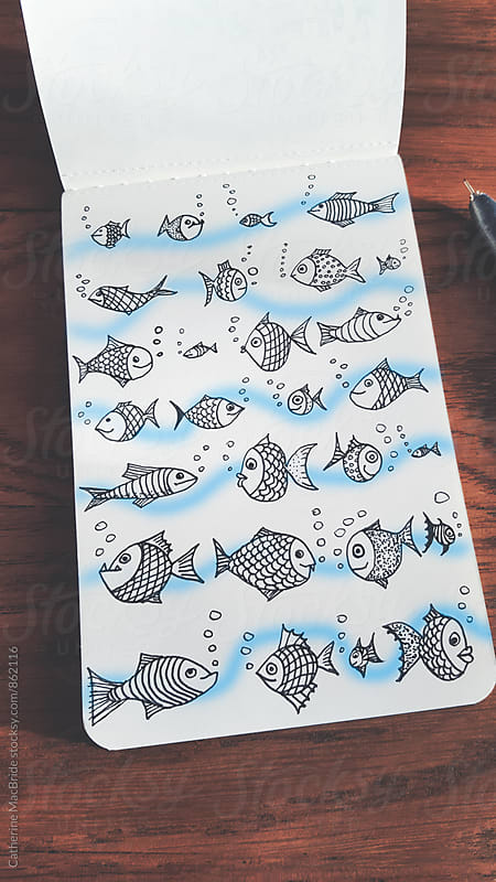 Slightly fishy... by Catherine MacBride for Stocksy United