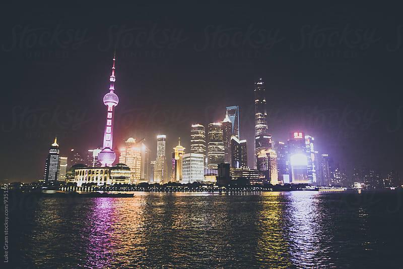 The Bund, Shanghai by Luke Gram for Stocksy United