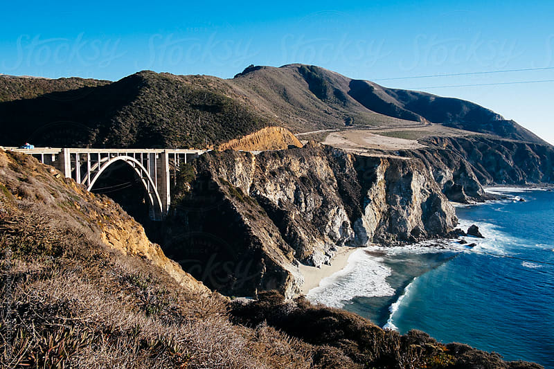 Bixby bridge by Oscar Lopez for Stocksy United