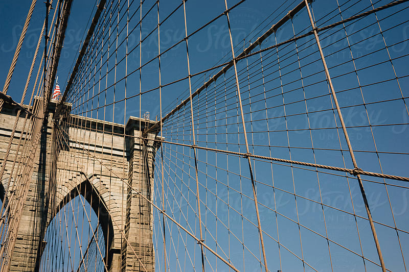Brooklyn Bridge  by Austin Rogers for Stocksy United