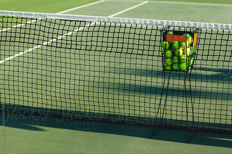 Tennis balls by MEM Studio for Stocksy United