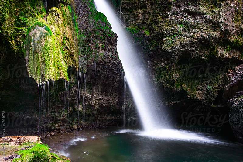 Hinang waterfalls by Peter Wey for Stocksy United