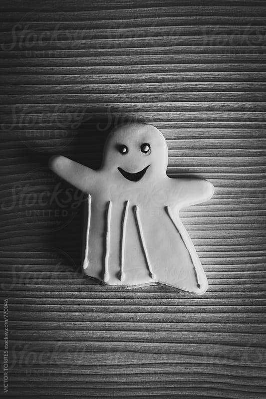 Halloween Ghosts Biscuits by VICTOR TORRES for Stocksy United