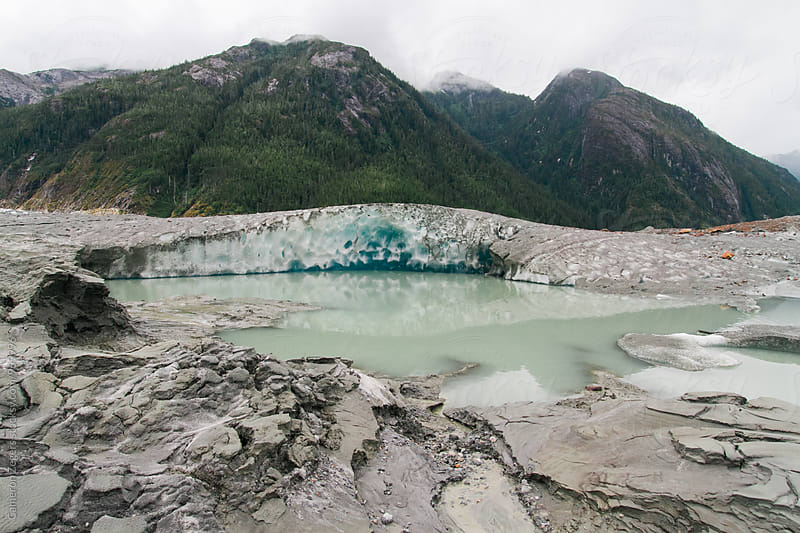 Alaska glacier by Cameron Zegers for Stocksy United