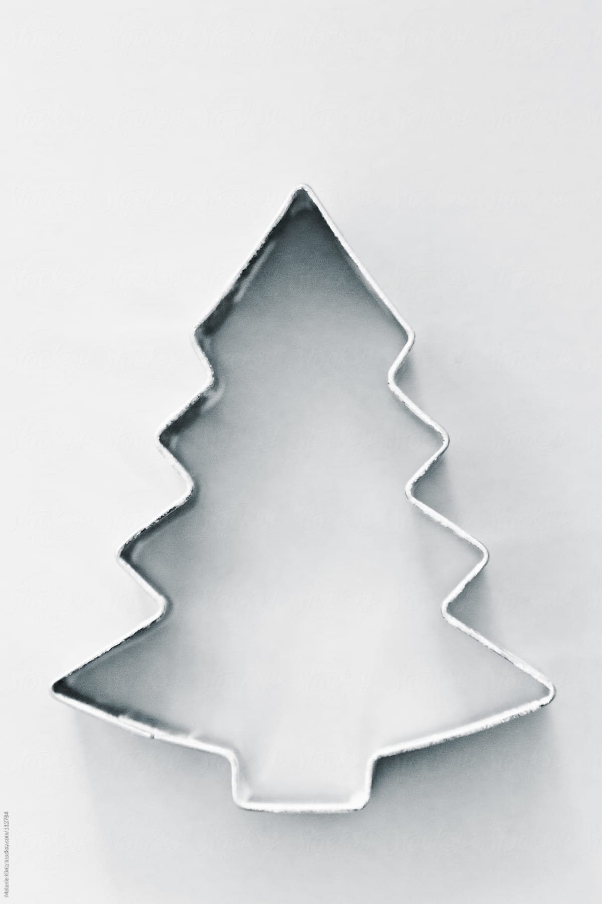 christmas tree cookie cutter by melanie kintz for stocksy united