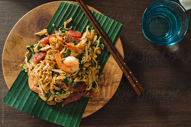 Char kway tiaw by Alita Ong for Stocksy United
