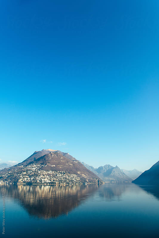 Lago di Lugano by Peter Wey for Stocksy United