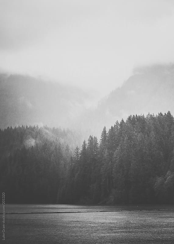 Light over Capilano Lake by Luke Gram for Stocksy United