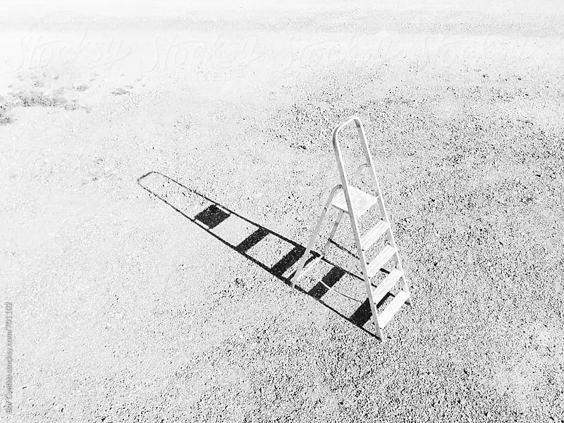Ladder from above by Bor Cvetko for Stocksy United