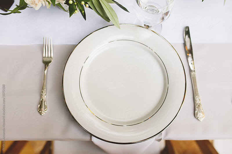 Place setting by Nate & Amanda Howard for Stocksy United